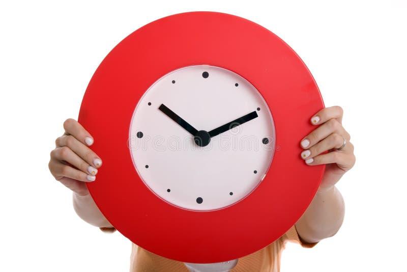 Horloge de fixation images stock