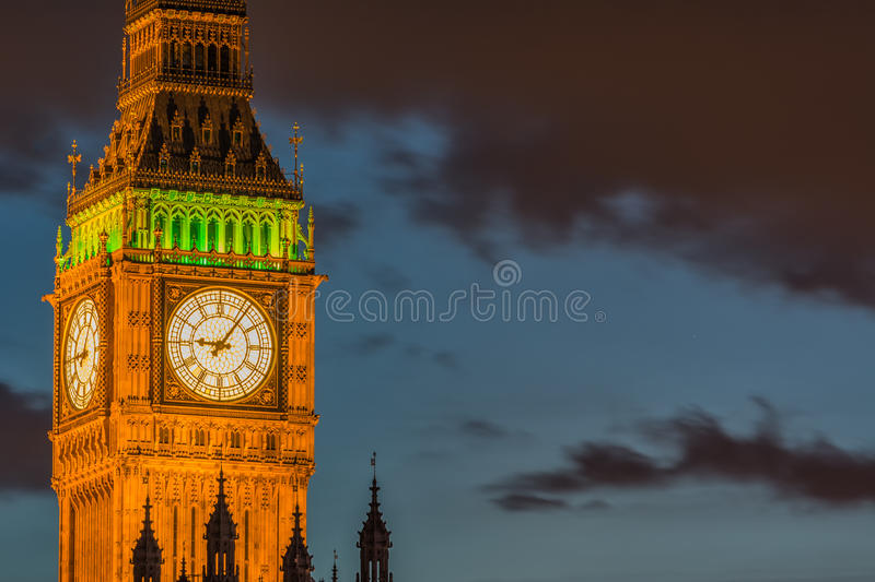 Horloge de grand Ben photos stock