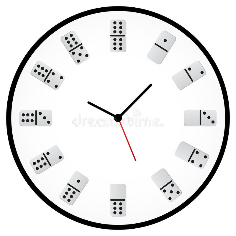 Horloge de jeu illustration stock