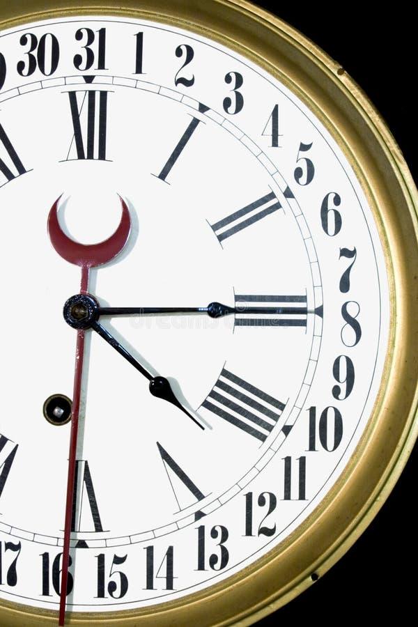 Horloge de jour 31 photo stock
