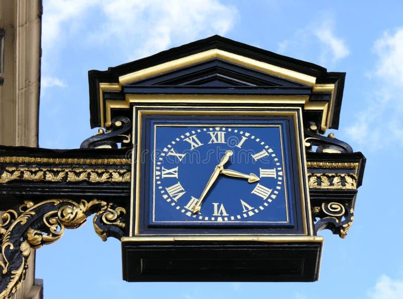 Horloge de Londres photographie stock