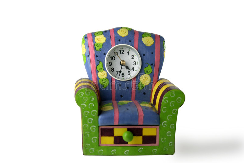 Horloge de mantel photos stock