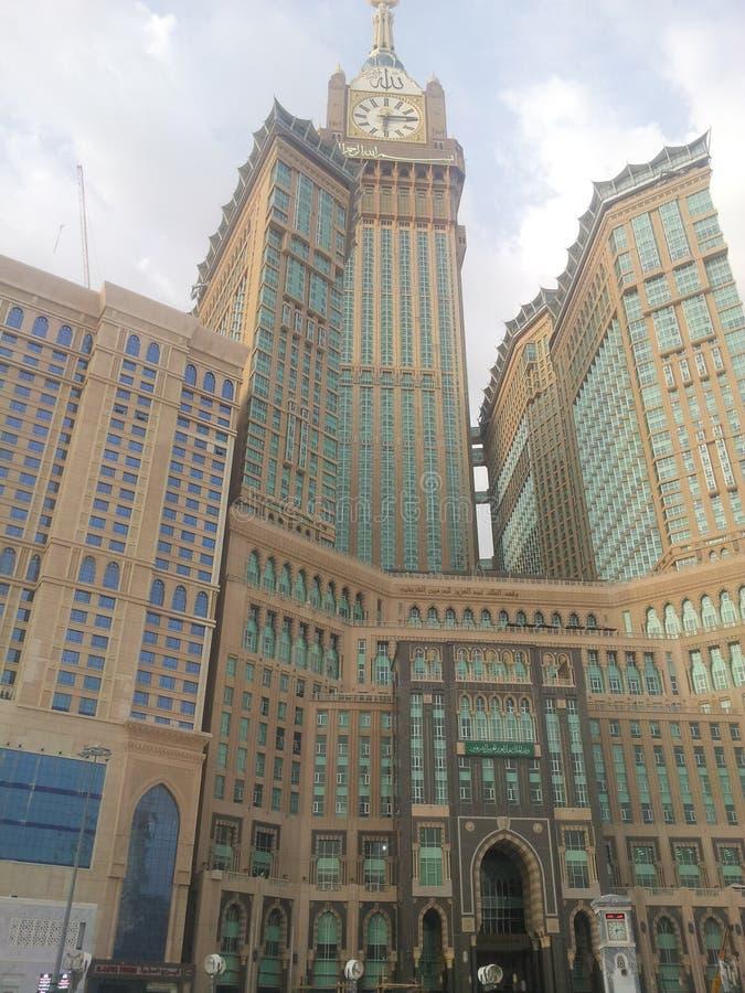 Horloge de Mecque image stock