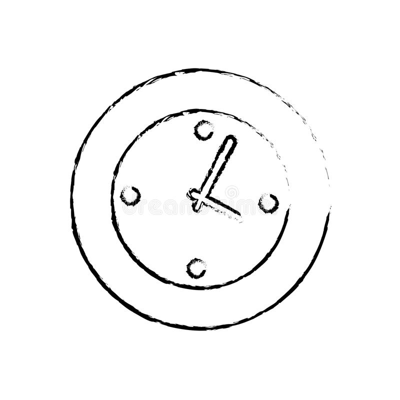 Download Horloge de montre de mur illustration stock. Illustration du objet - 87704072