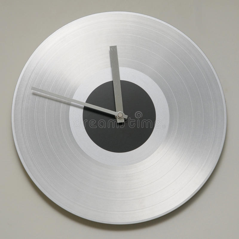 Horloge de mur photographie stock
