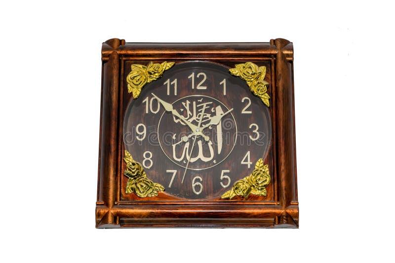Horloge de mur analogique photo libre de droits
