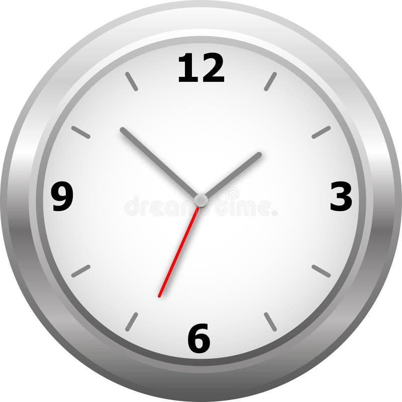 Horloge de mur classique illustration stock