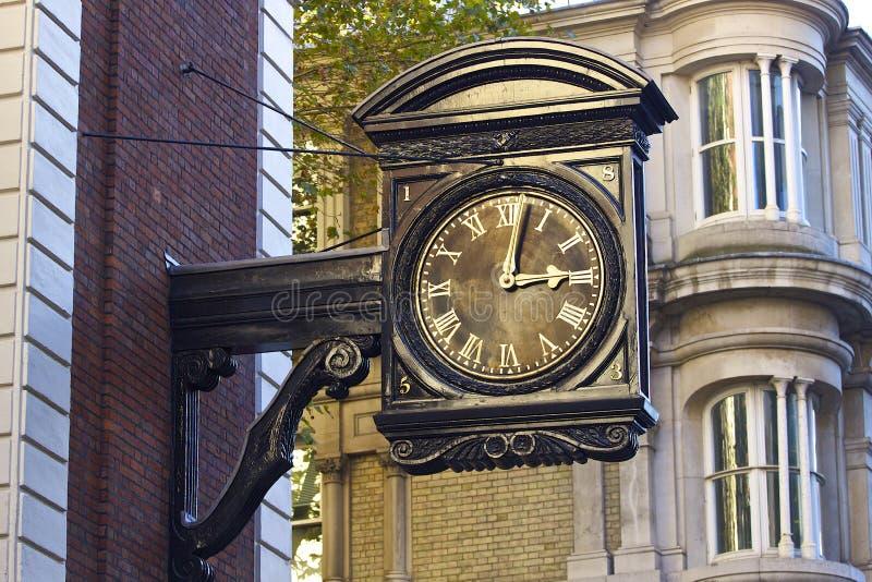 Horloge de rue à Londres, R-U photos libres de droits