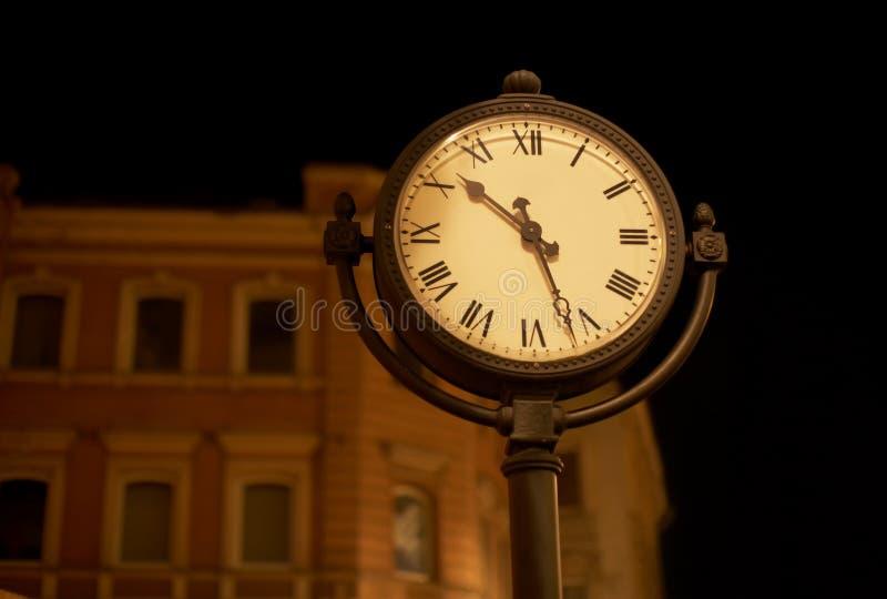 Horloge de rue photo libre de droits