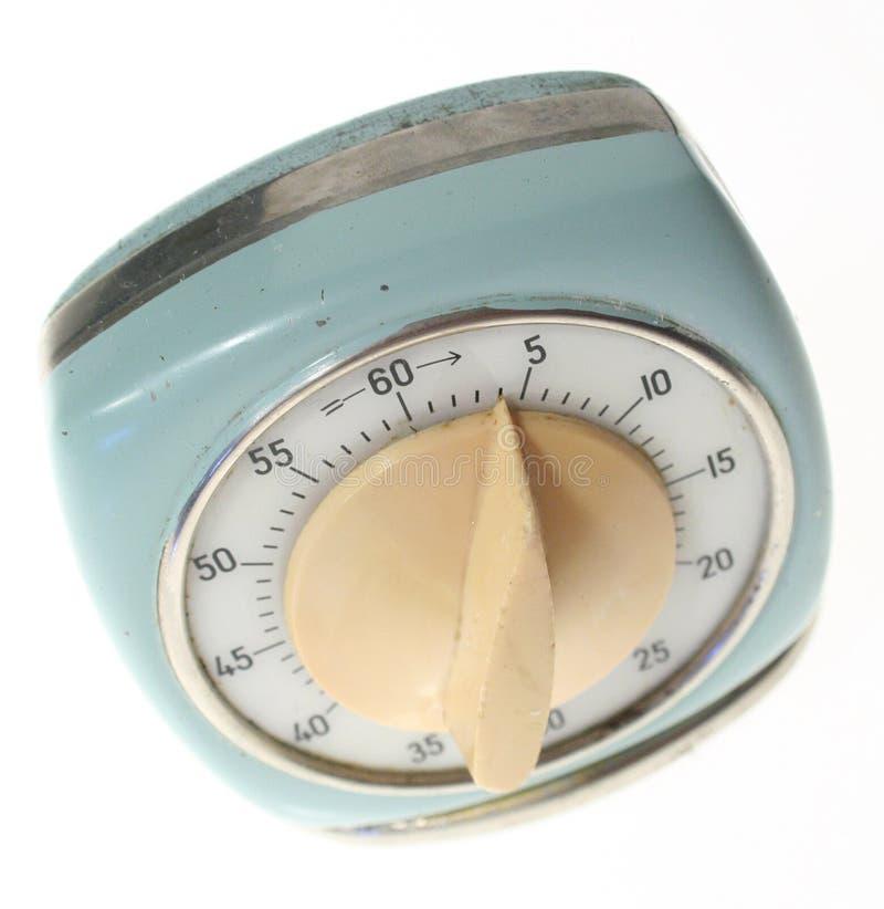 Horloge de rupteur d'allumage d'oeufs photo stock