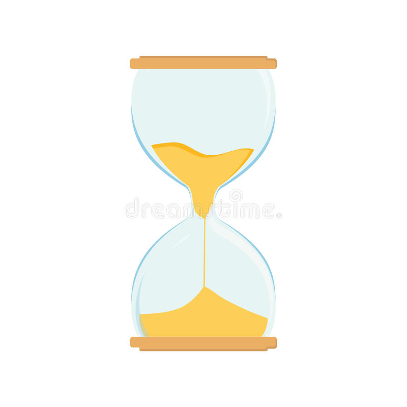 Horloge de sable illustration stock