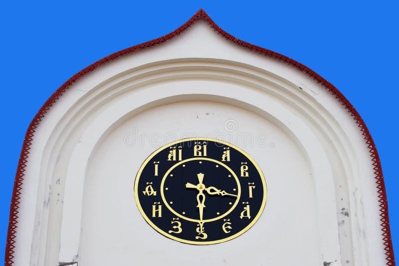 Horloge de tour image libre de droits