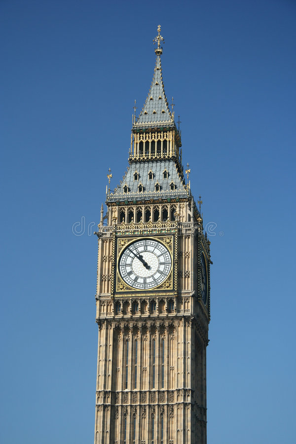 Horloge de tour de Londres grand Ben photo stock