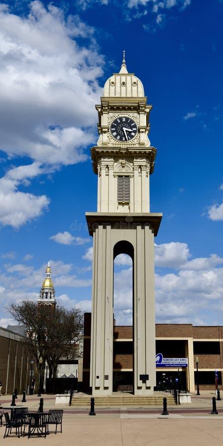 Horloge de ville photo stock