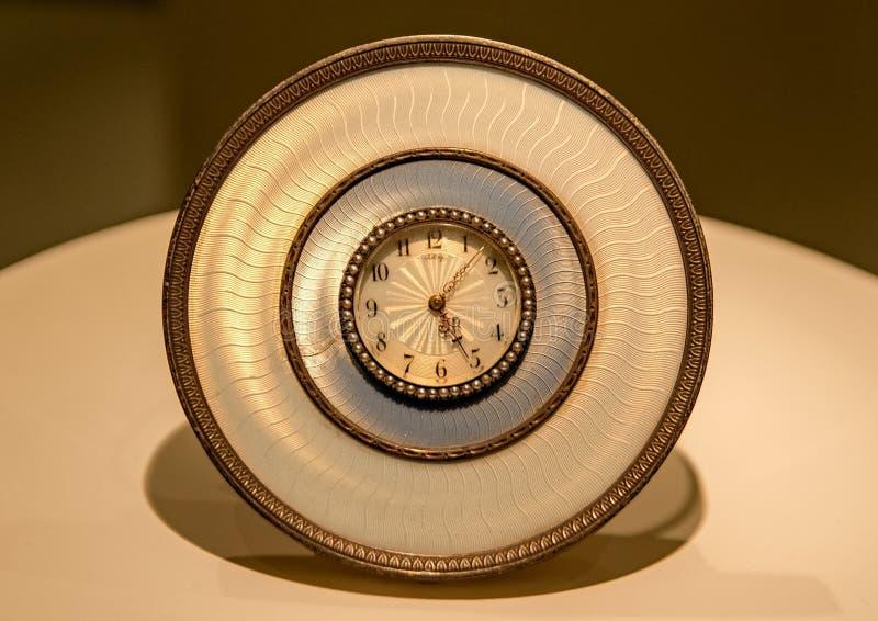 Horloge depuis le début du 20ème siècle photo stock