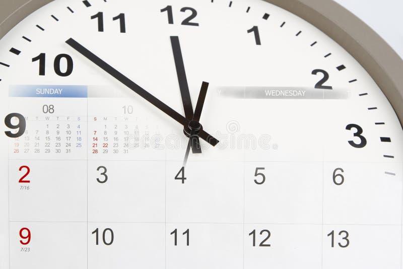 Download Horloge et calendrier photo stock. Image du composé, ponctuel - 77162446
