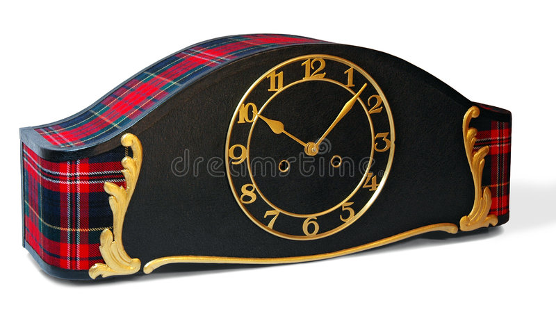 Horloge fabriquée à la main photo libre de droits