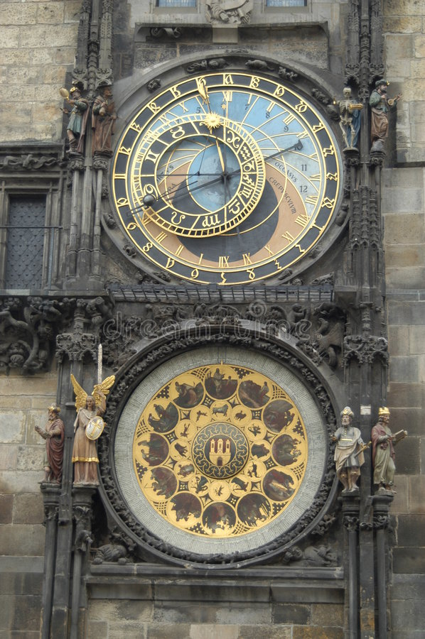 Horloge historique photos libres de droits