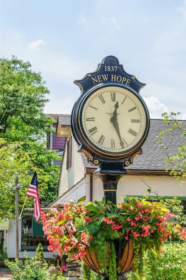 Horloge intéressante dans le nouvel espoir historique, PA photo stock