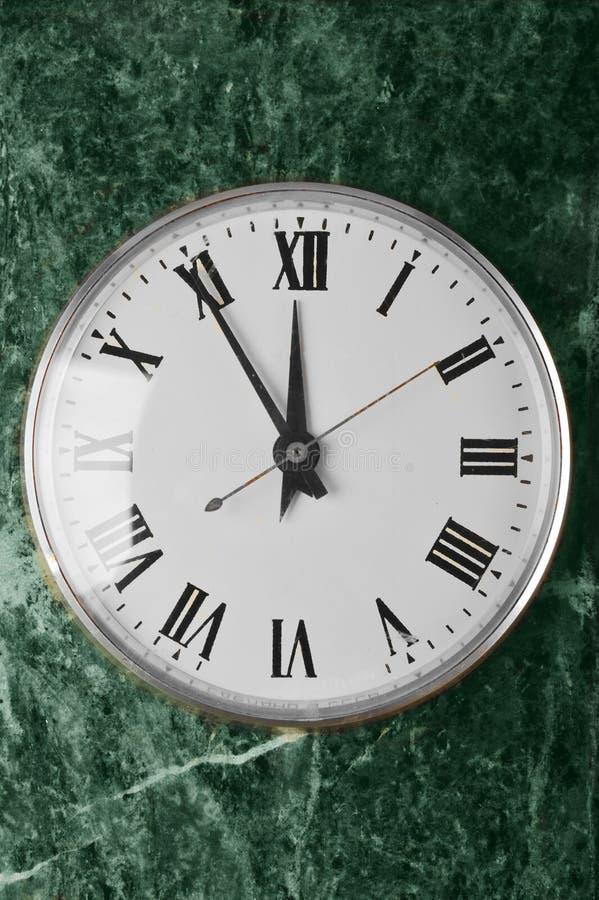 Horloge mécanique images libres de droits