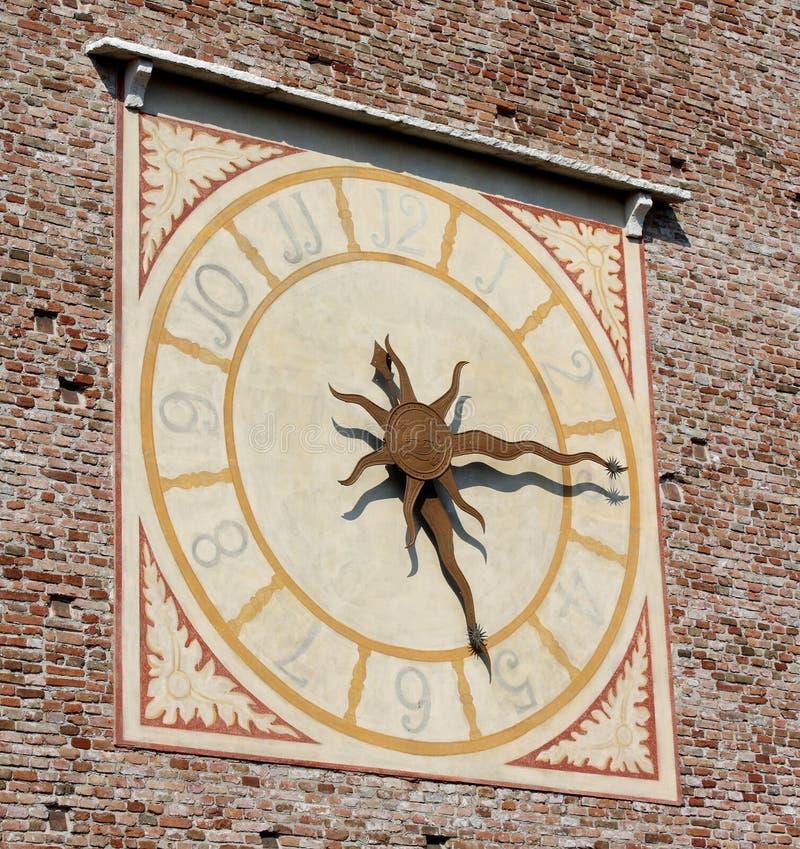 Horloge médiévale photos stock