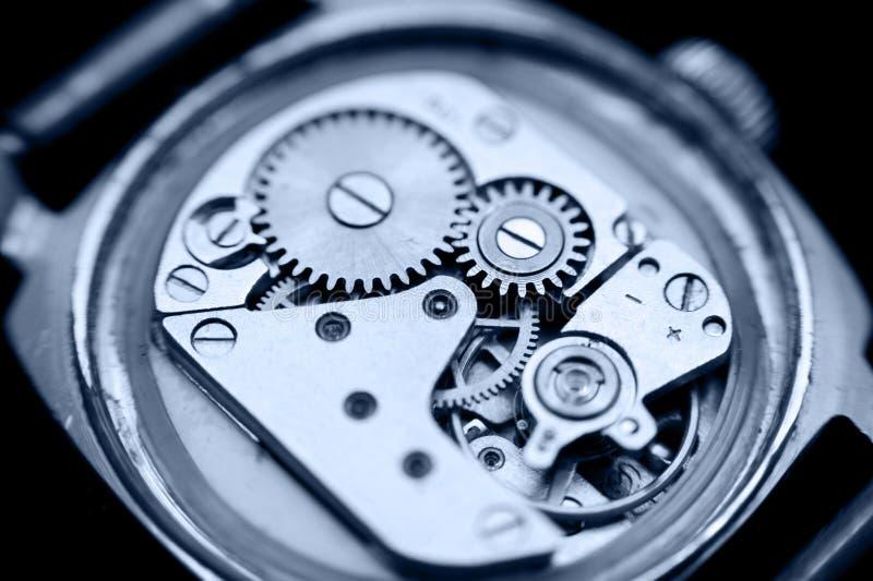 Horloge, macro royalty-vrije stock foto