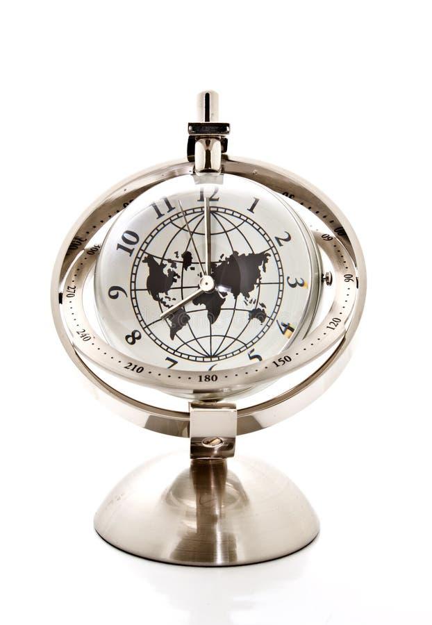 Horloge modèle globale images libres de droits