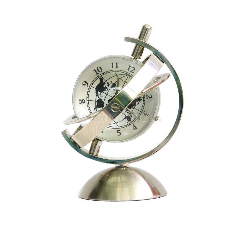Horloge modèle globale photographie stock