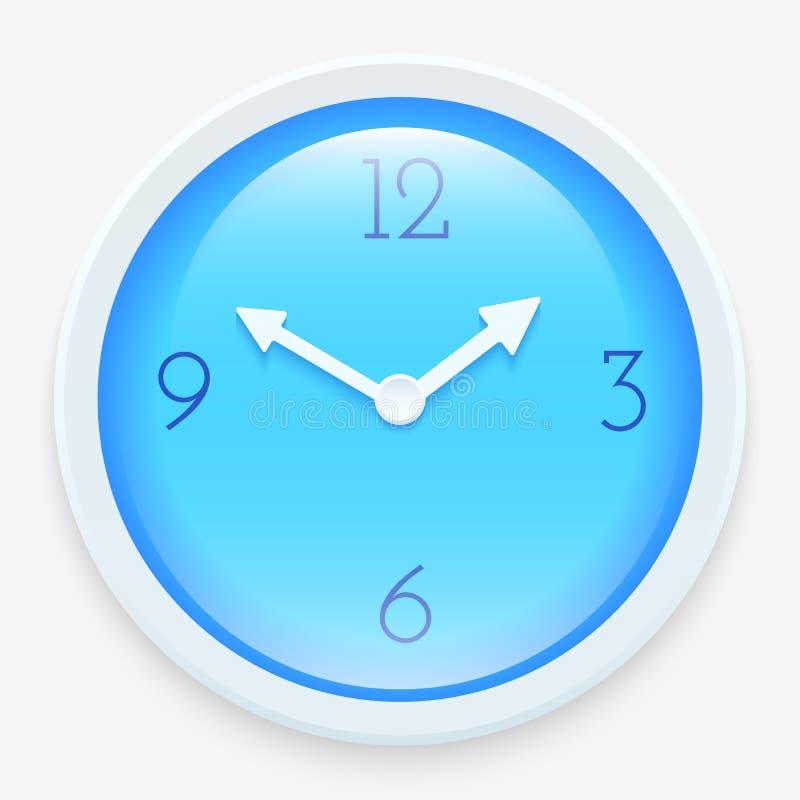 Horloge moderne illustration libre de droits