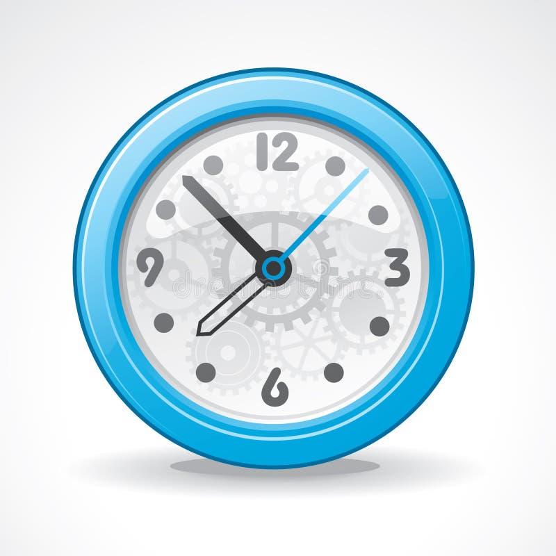 horloge moderne transparente illustration de vecteur. Black Bedroom Furniture Sets. Home Design Ideas