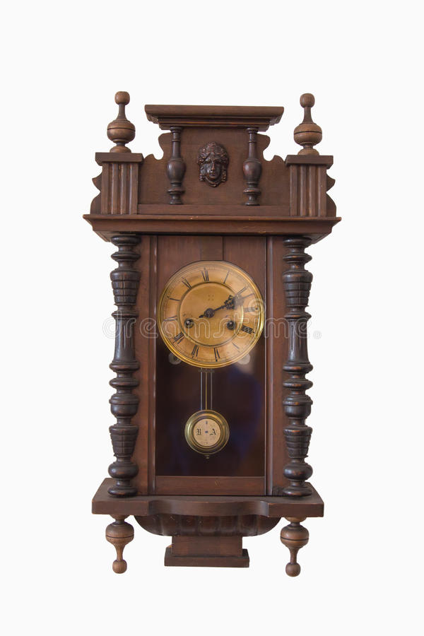 Horloge murale de carillon image libre de droits