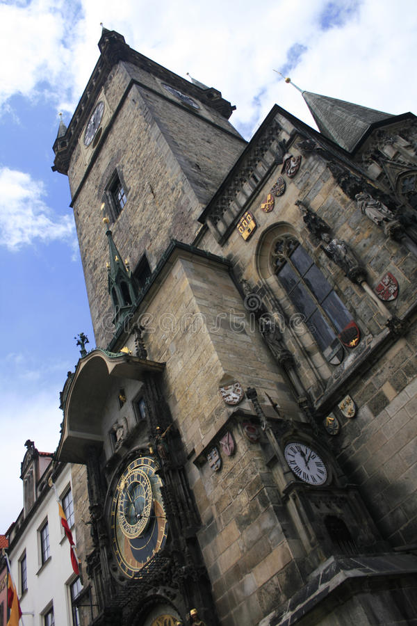 horloge Prague images libres de droits