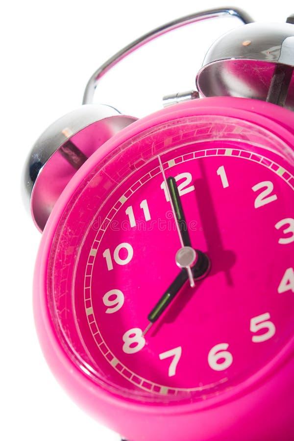 Horloge rose image libre de droits