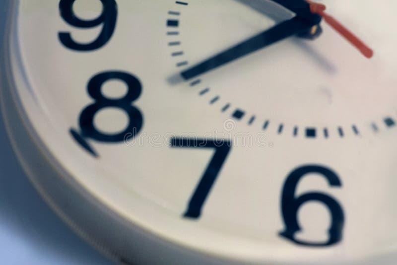Horloge six neuf images stock