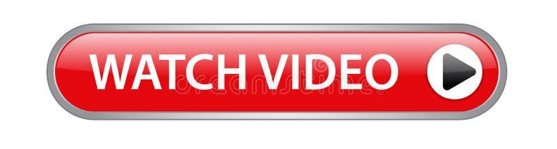 Horloge videoknoop royalty-vrije illustratie