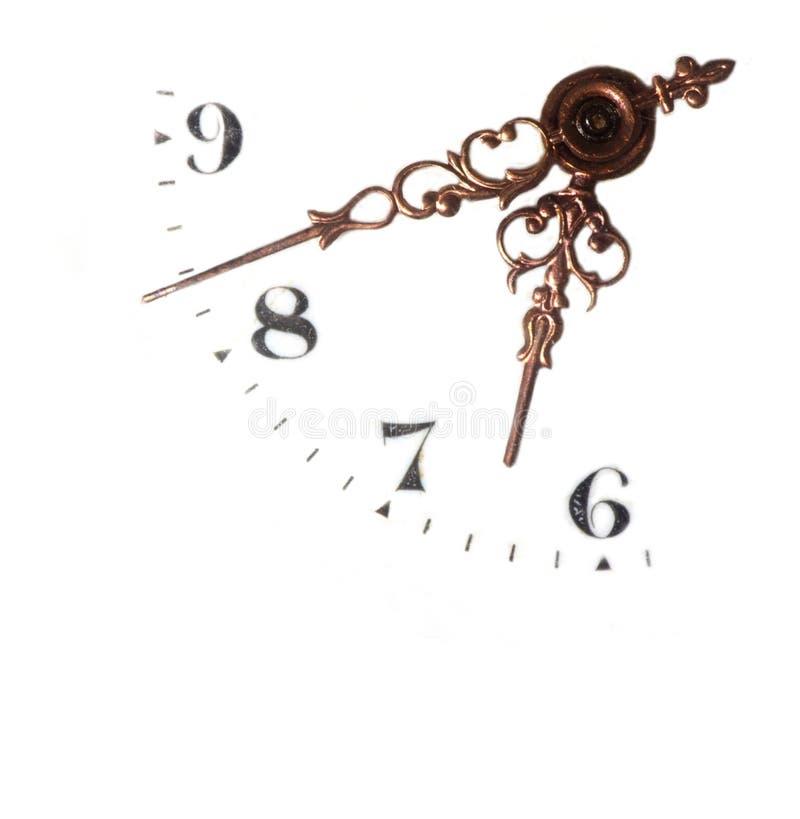 Horloge-visage photographie stock