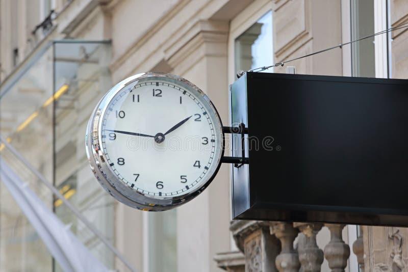 Horlogeklok stock foto