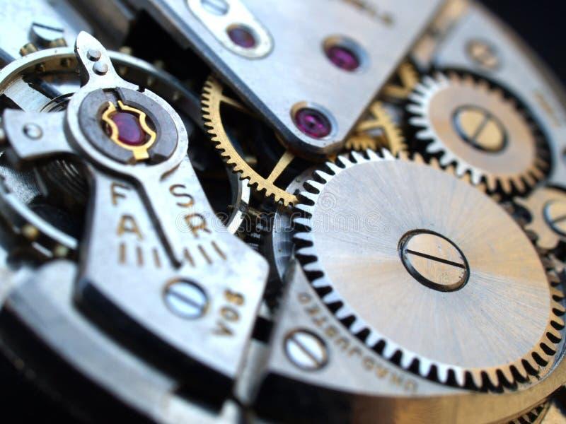 Horlogemachines stock afbeelding