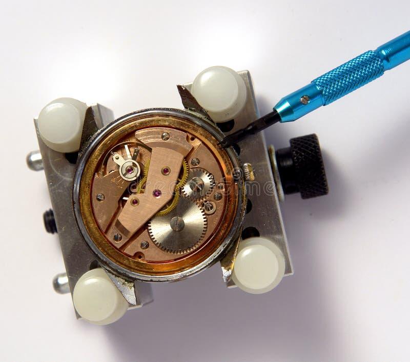 Horlogemaker stock afbeeldingen