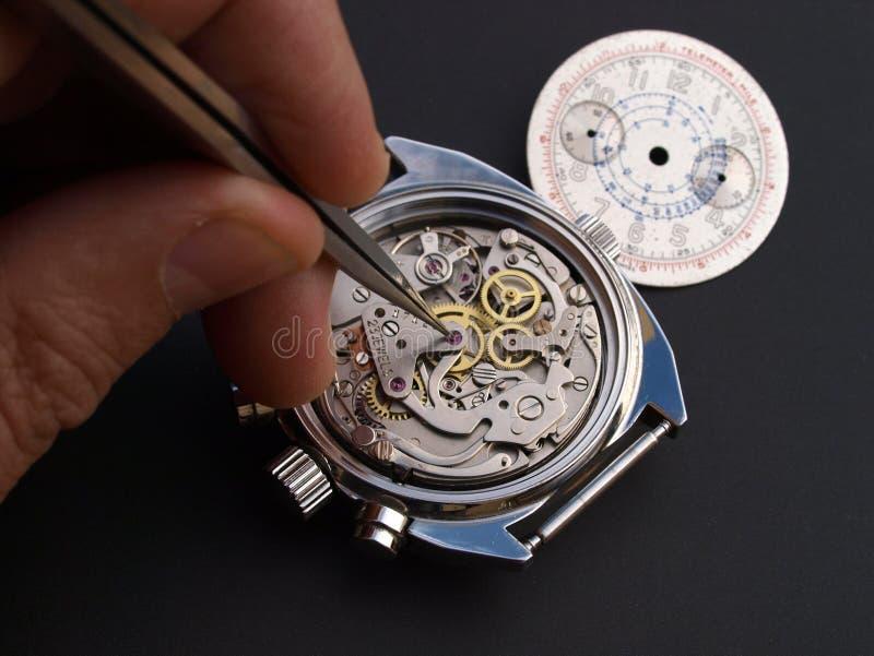 horlogemaker royalty-vrije stock afbeelding