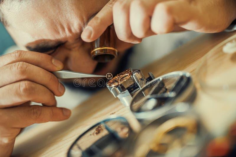 horloger photo stock