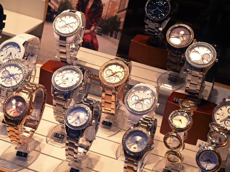 Horloges royalty-vrije stock afbeelding