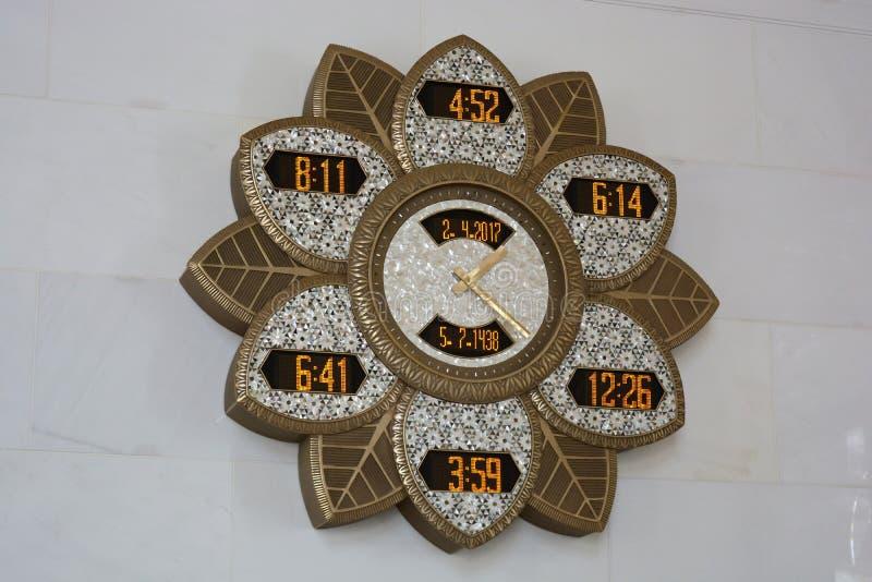 Horloges, Abu Dhabi photo stock