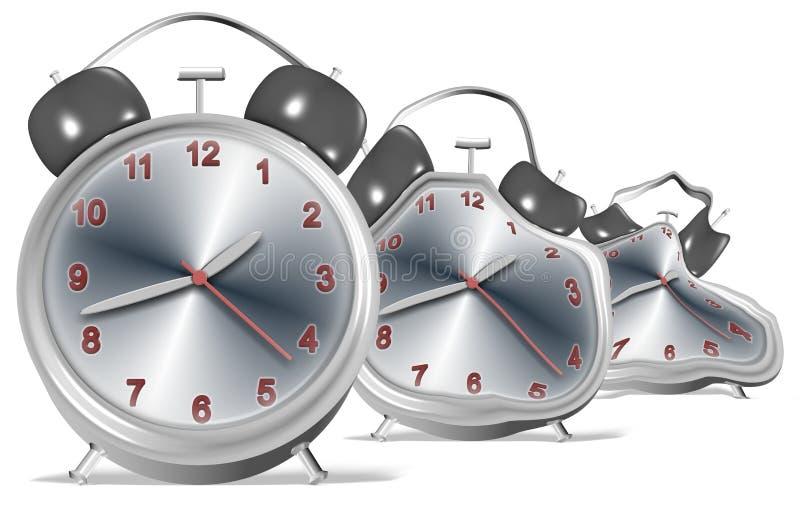 Horloges De Fonte Images libres de droits