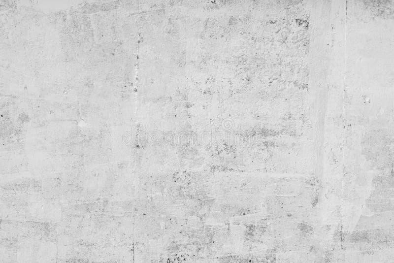Hormigón blanco del fondo de la pared, espacio en blanco abstracto áspero sucio del contexto de la superficie de piedra del grung fotos de archivo libres de regalías