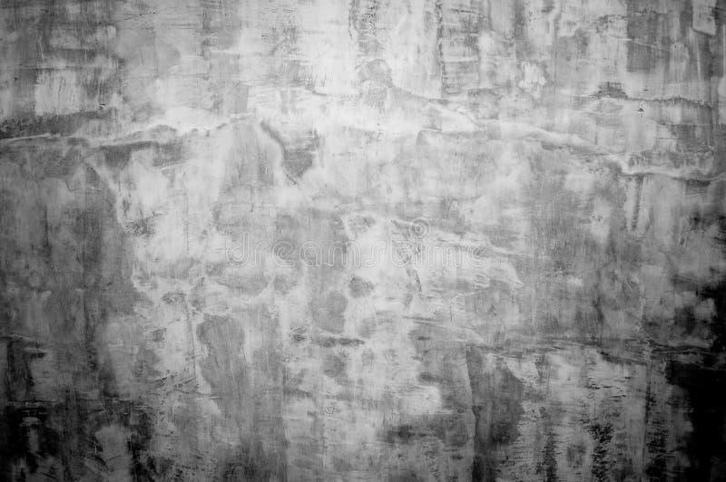 Hormigón gris del grunge del panel de pared con el fondo ligero Textura concreta sucia, del polvo de la pared gris del contexto y fotografía de archivo