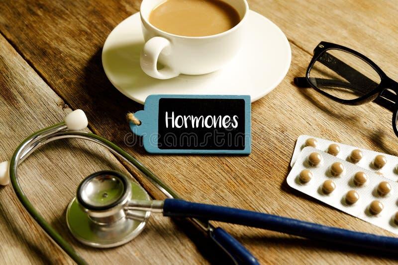hormon royaltyfria foton