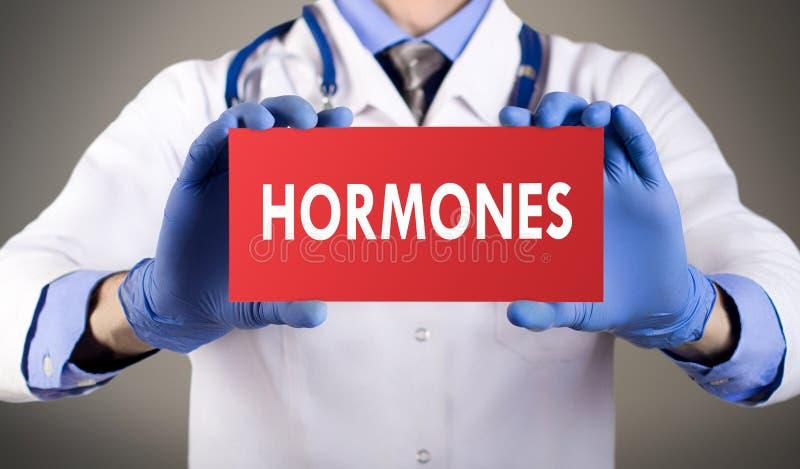 hormonas fotografía de archivo