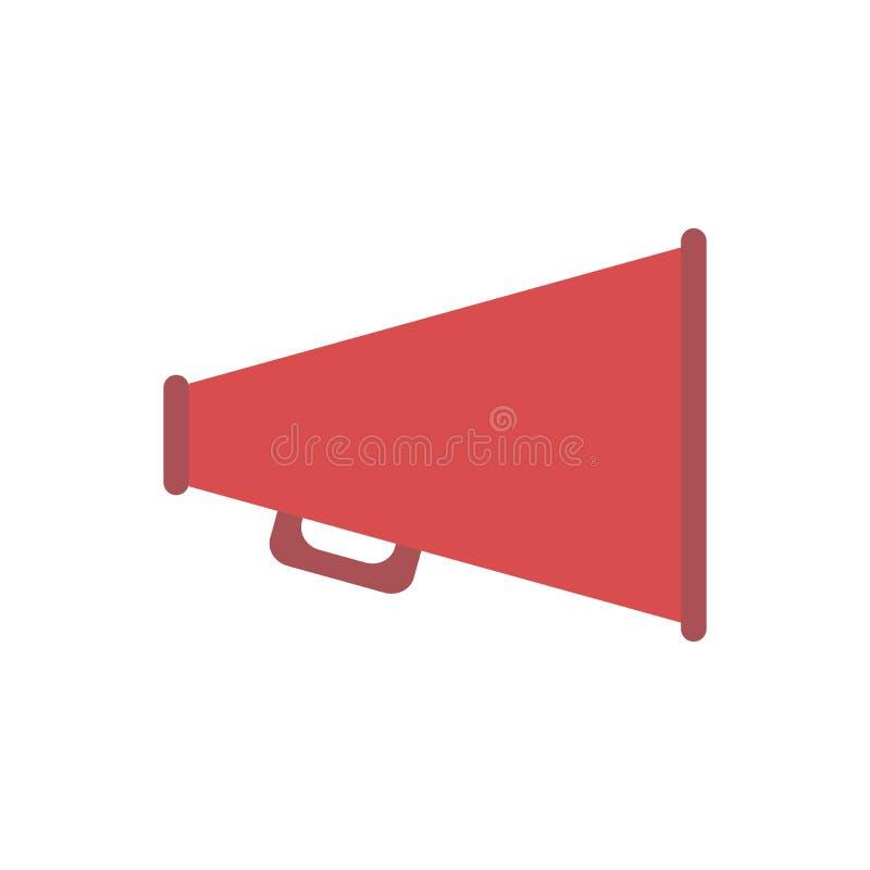 Horn für Filmikone lizenzfreie abbildung