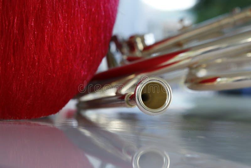 Horn från fanfar fotografering för bildbyråer